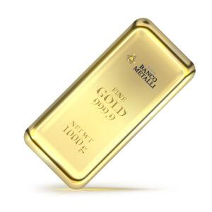 lingotto 1000g Nuovo Banco Metalli Genova