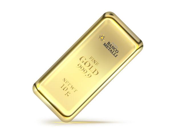 lingotto 10g Nuovo Banco Metalli Genova