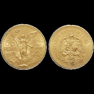 50 Pesos Nuovo Banco Metalli Genova